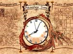 Alchemic Clock screensaver shows time and the secret of Philosopher's stone!