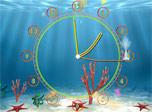 Even aquarium fishes want to know the current time. They need very special clock with flexible hands crawling through the clock face second after the second to amuse the small fishes and rise your spirits.