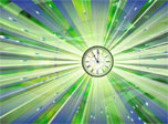 Atomic Clock screensaver: feel the rhythm of the Universe's symphony!