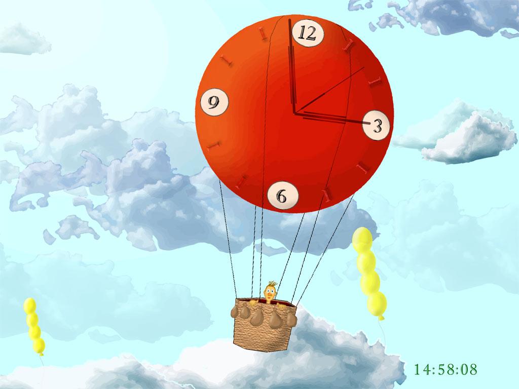 how to make a clock your mac screensaver