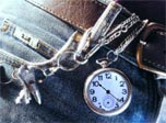 Belt Watch: Grandpa's watch and keys to the future!