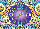 Blossom Clock screensaver - download free blossom Clock, a spring-born screensaver!