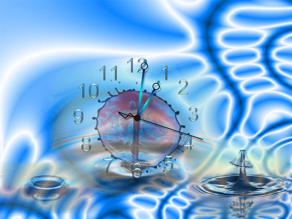 Bubble Clock ScreenSaver