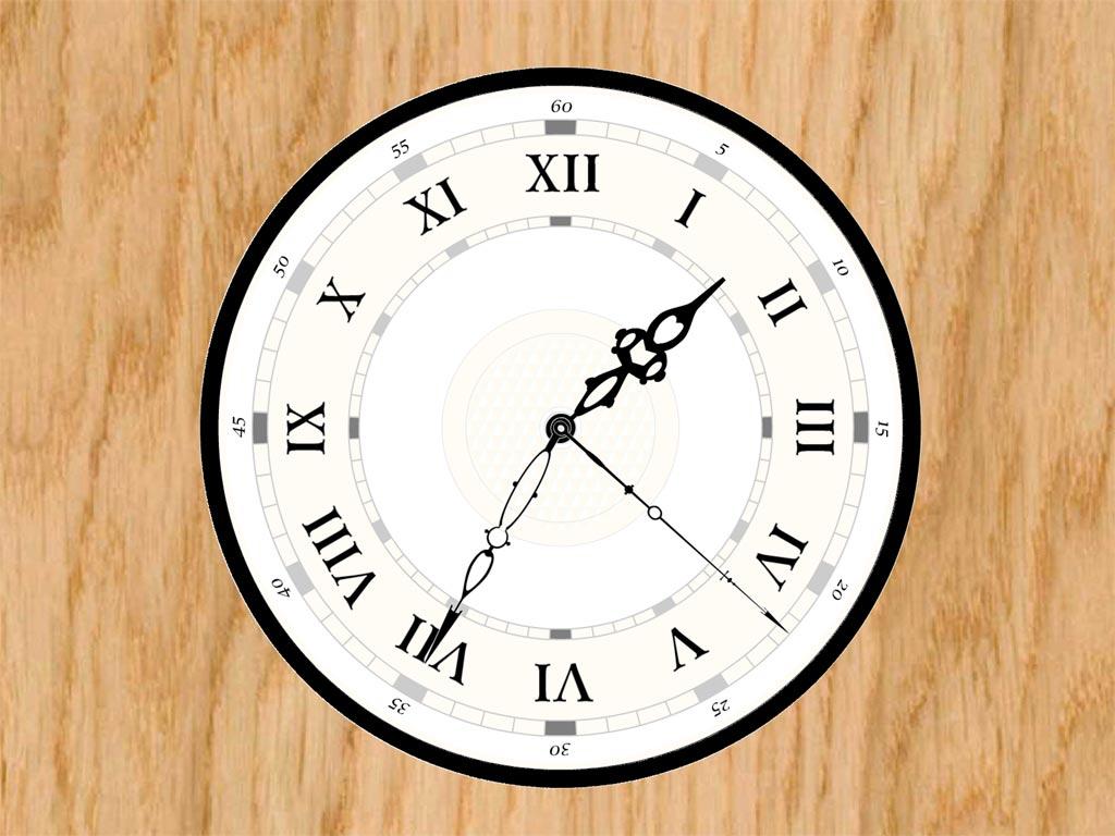 decorate your desktop with classic clock screensaver