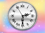 7art Color Therapy Clock screensaver - Charge your mood with beaming rich colours!