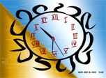 7art Confucius Clock screensaver: Do not miss single day, an hour, a minute or a second!