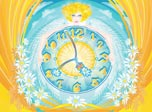Full of life this clock is generously beaming with vitalizing positive energy. Symbol of Nature's big heart, daisy fragrantly reminds us that all you need to do to find joy and harmony is to turn your heart towards this humble flower and let it in.