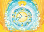 Daisy Clock Screensaver radiates positive energy!