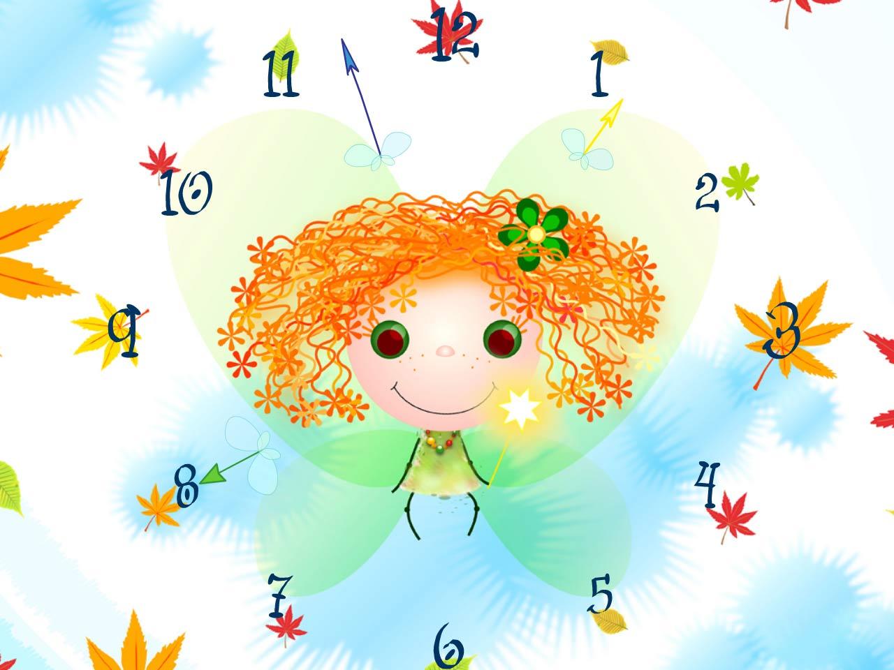 elf clock screensaver is a cute screensaver for those who love