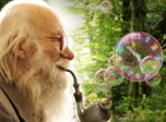 Gandalf Bubble Clock
