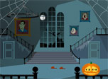 Halloween Clock screensaver: enjoy the halloween atmosphere in merry vampire castle!