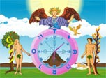 Love Fortune Clock - the magic of Tarot at your desktop!