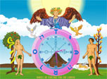 In this clock magical tarot cards are combined together to bring you luck and happiness in love. It has been already proved to be very effective for some people. All you need is to install the clock as your screensaver and a bit of faith.