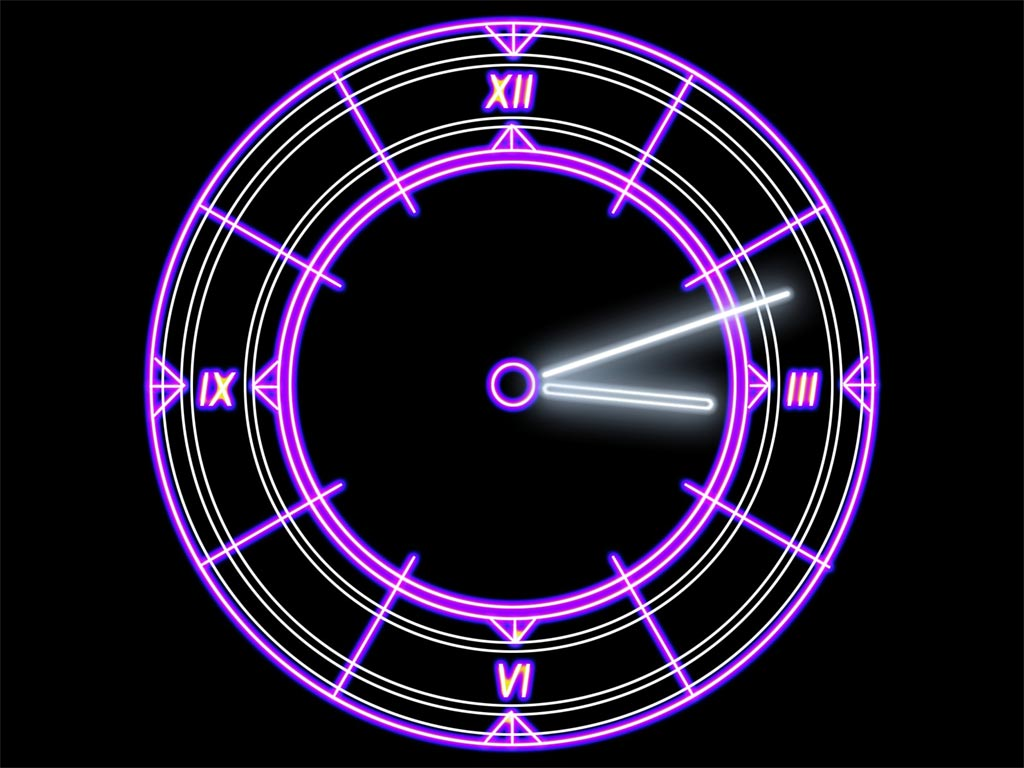 Have an attractive Sci-Fi element right on your desktop. Enjoy futuristic clock! Screen Shot