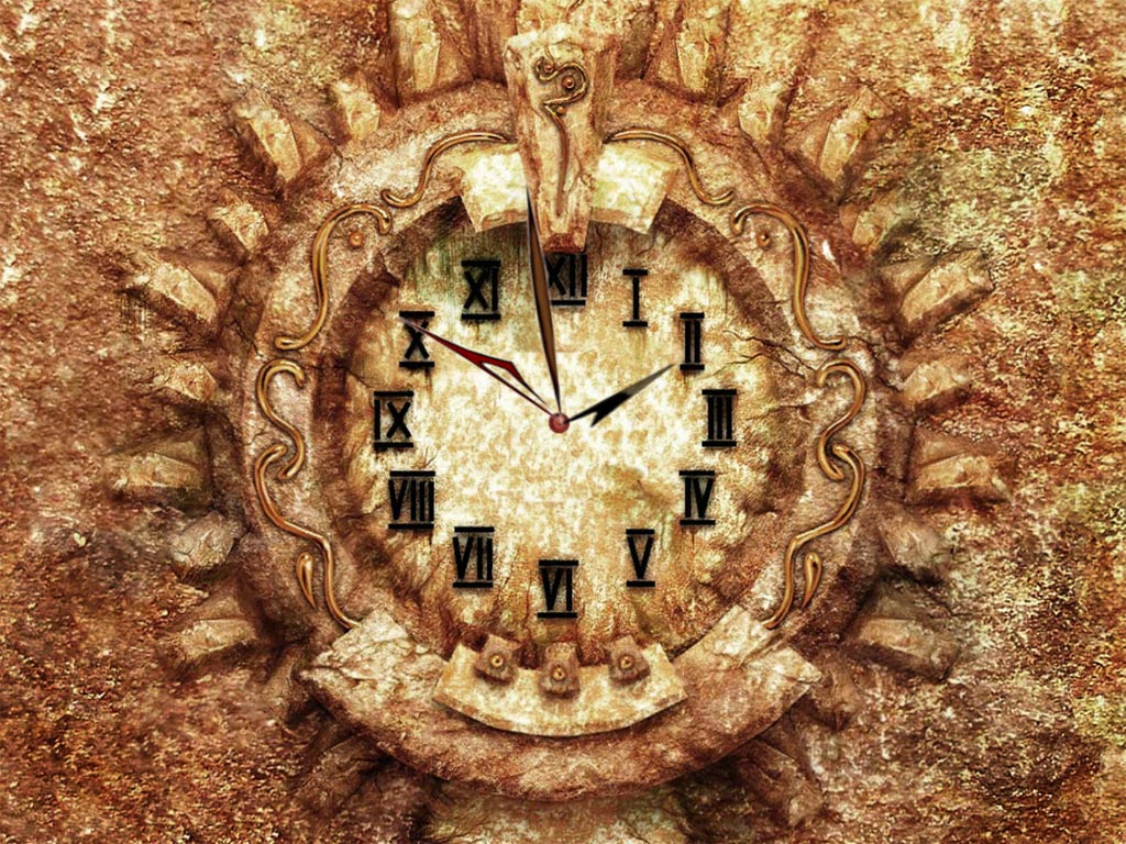 Medieval Clock Screensaver Feel The Atmosphere Of Middle