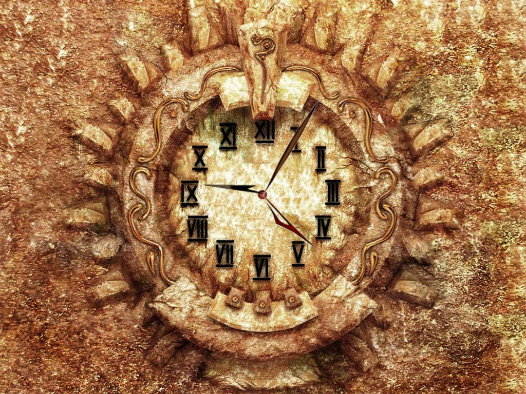 Medieval Clock screensaver