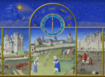 Middle Ages clock