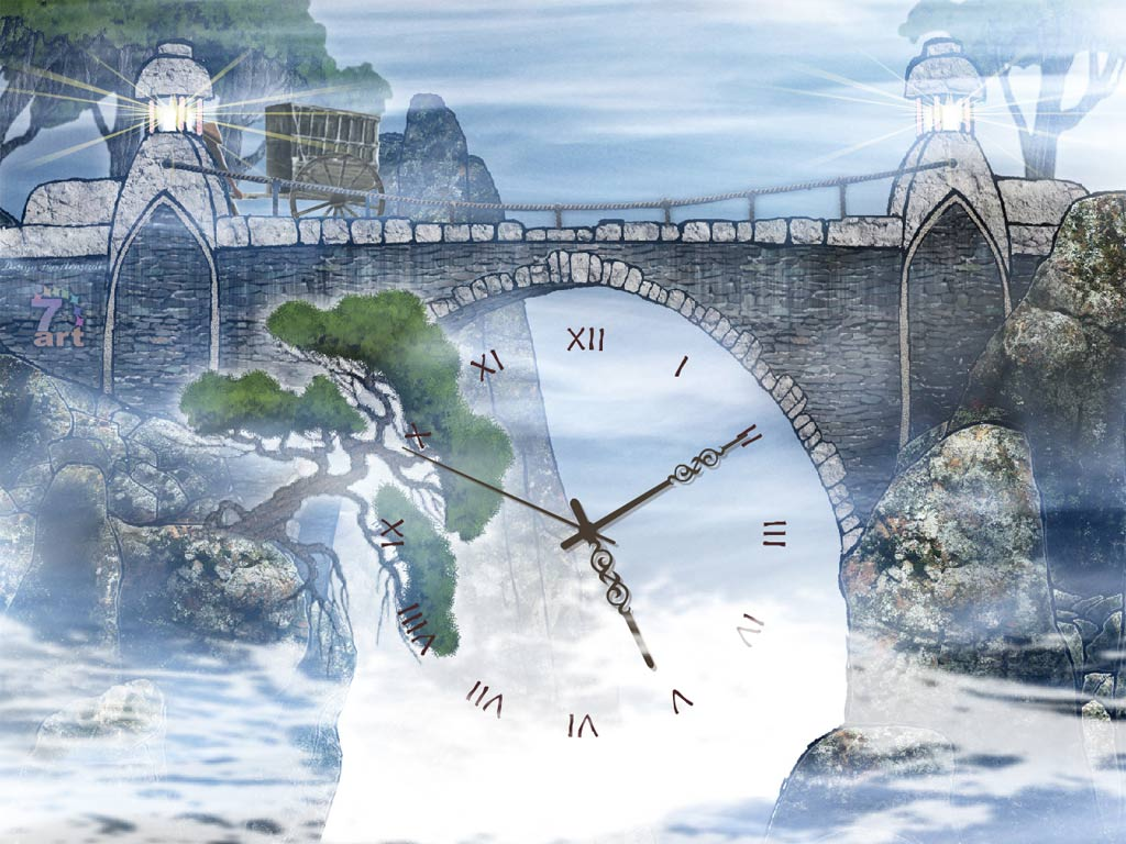 Oriental Clock ScreenSaver