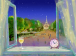 Open your window into the most romantic city on Earth. Paris is smiling in its elegant beauty! Be amazed as fragrant wine, picturesque avenue and shapely tower come to life on your desktop! Paris Clock is a chance to follow Paris life around the clock!