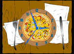 Hungry? Download free 7art Pizza Clock screensaver!