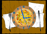Hungry? Download free 7art Pizza Clock. As usually with 7art Clock screensavers - there is a hidden magic feature built-in its clockwork - if you are on diet it will help you not to eat too much, otherwise it could be a nice virtual appetizer! All you need is to beleive in miracles and they will begin to happen frequently!