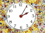 7art Precious Stone Clock screensaver - Touch the healing powers of precious stones!