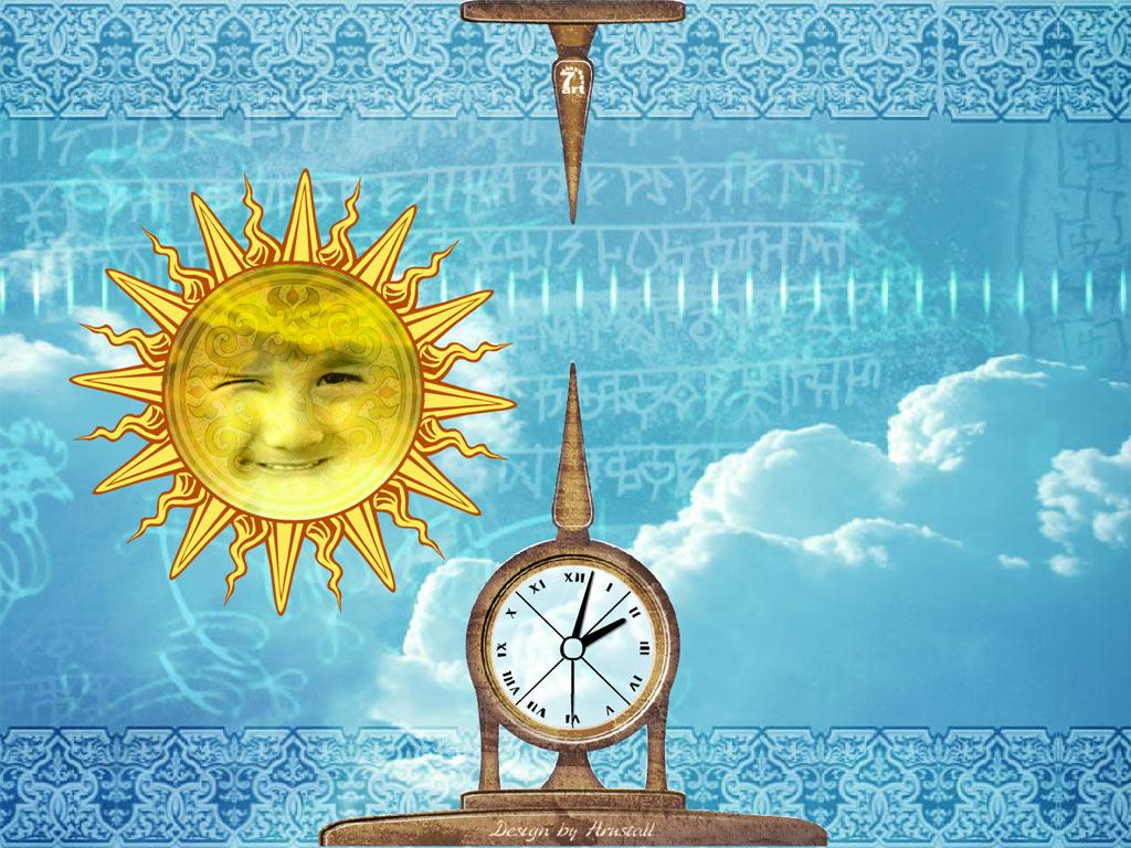 Sky Mandala Is A Meditative Screensaver With Clock Itll Give You