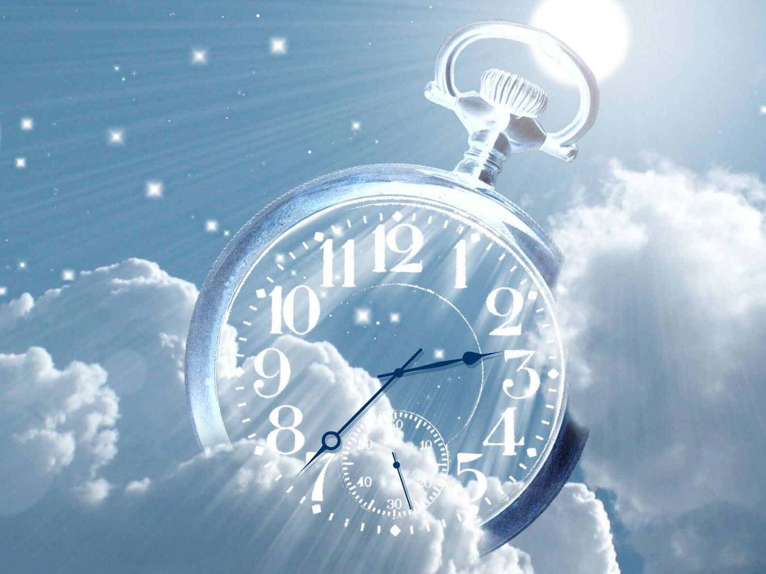 Часы облака заставка на рабочий стол 26 фотография