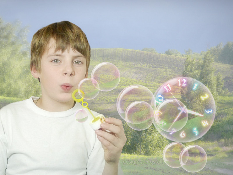 Windows 7 Bubbles Screensaver For Xp