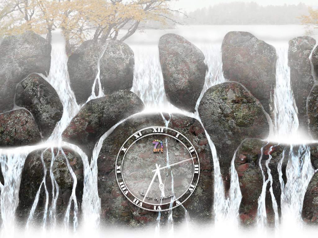 Water Clock ScreenSaver