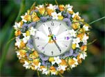 Natural Flower Clock found in fairy tale. Now you can easily find out the exact magical time and date. Every magical second passed in free Love Flower Clock screensaver is full of love. Let's share it with all the world.