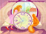 Wonder Clock Screensaver: open a window into the Wonderland!
