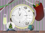 Xmas Clock screensaver: hold a Christmas celebration on your desktop!