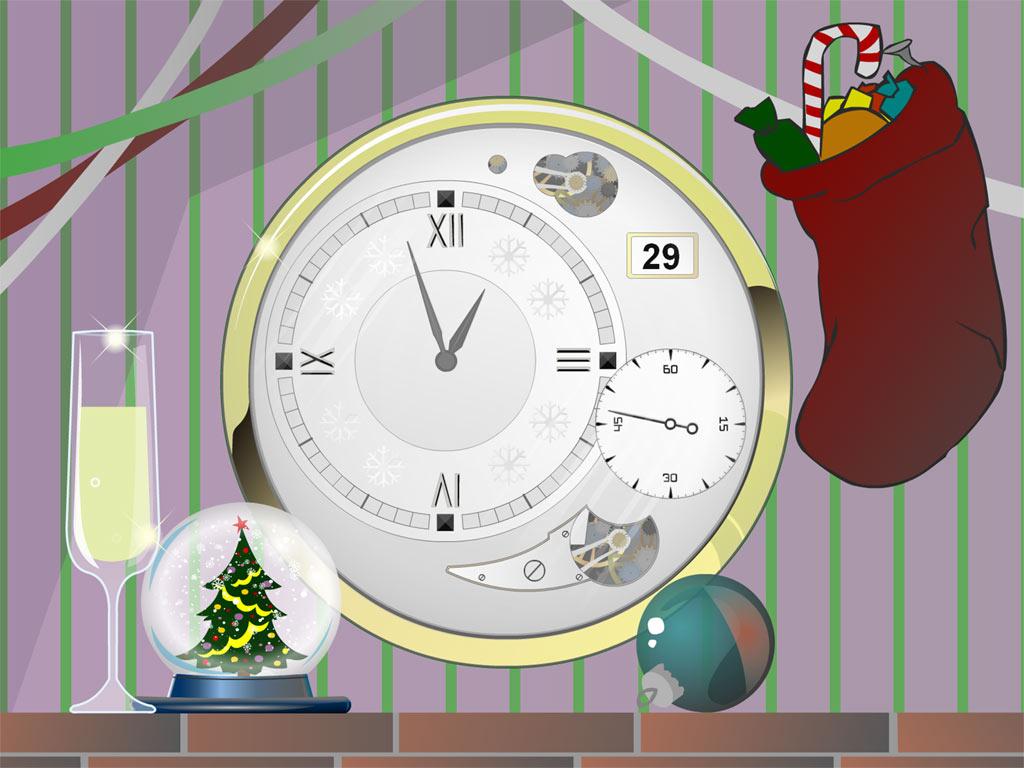 Hold a Christmas celebration on your desktop